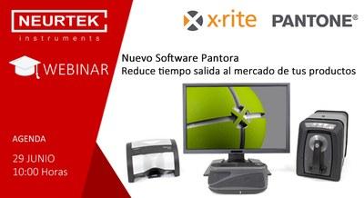 Webinar Gratuita: Nuevo Software Pantora de X-Rite.