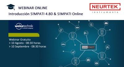 Webinar Gratuita. Simpati 4.80 & Simpati Online