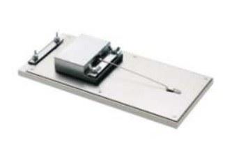 Mordazas para medición del coeficiente de fricción