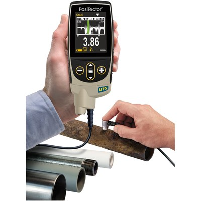 Medidor de espesores PosiTector UTG de pared por ultrasonidos