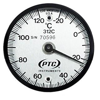 Termómetro magnético de contacto