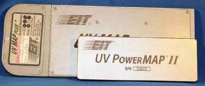 Radiómetro Portatil UV PowerMAP y UV MAP Plus